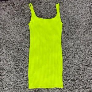 PrettyLittleThing Dresses - Neon Yellow Mini Dress